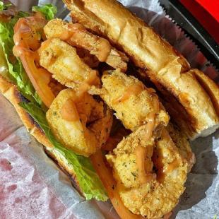 20% Off Fifth Ave Shrimp Po' Boy