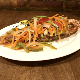 Get Escovitch Snapper for $12