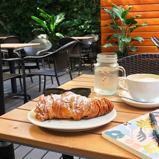 Buy Breakfast Pastry and get a Free small coffee