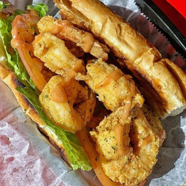 Fifth Ave Shrimp Po' Boy for 20% Off.