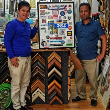 $100 voucher towards custom framing Was $100, Now only $39.