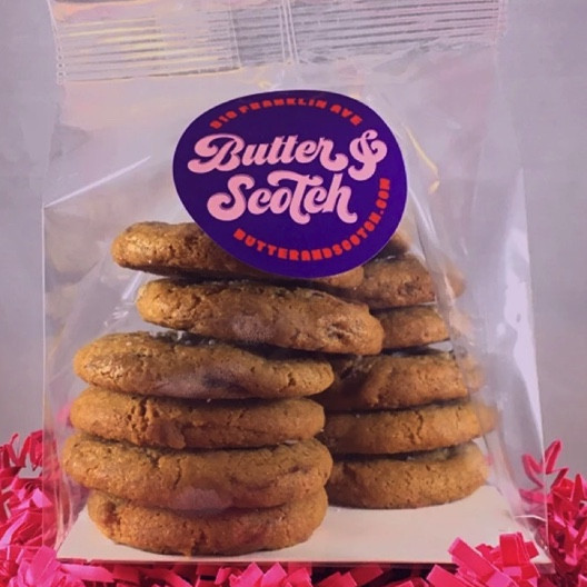 12 PACK OF MINI CHOCOLATE CHIP COOKIES - $10