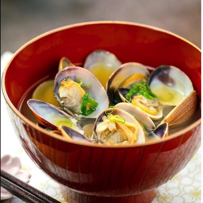 Clam Miso Soup - $5