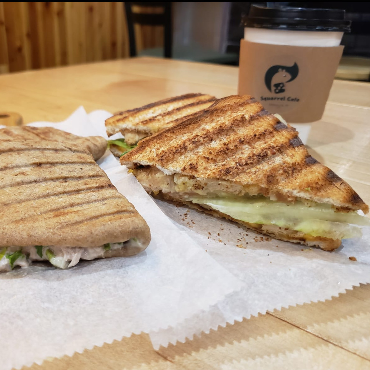 Free Small Coffee with Purchase a Sandwich