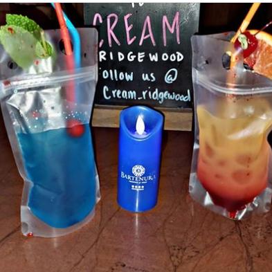 Cream Ridgewood