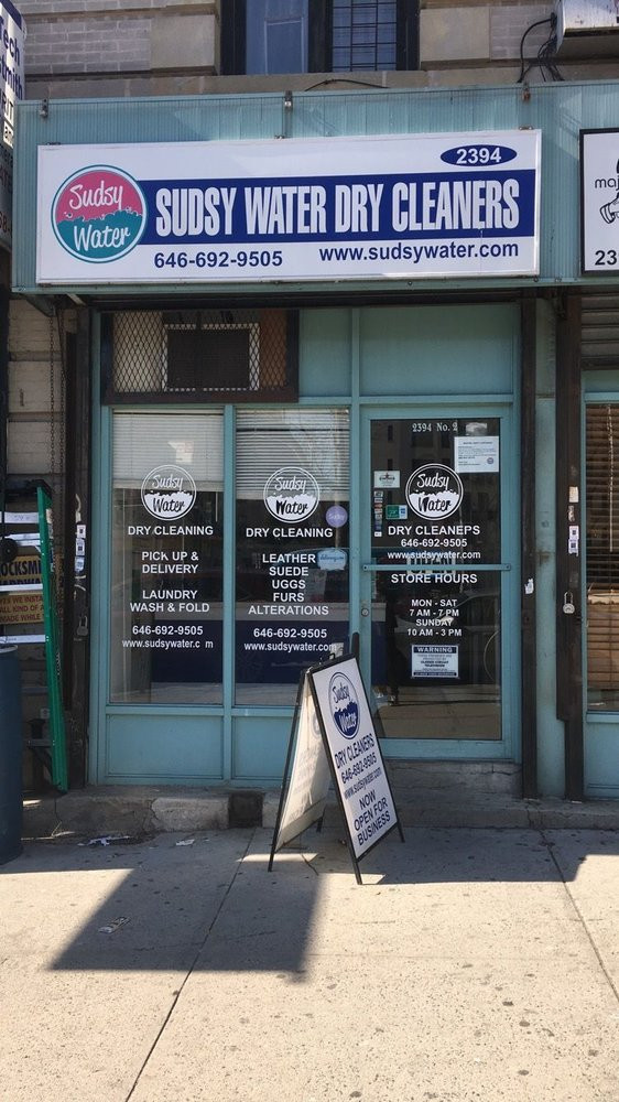 Sudsy Water Dry Cleaner & Laundry